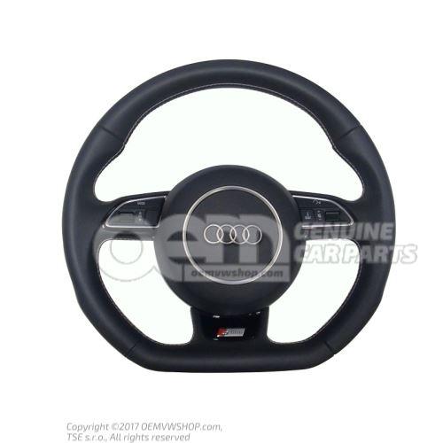 Genuine Audi steering wheel with flat bottom OEM01455267