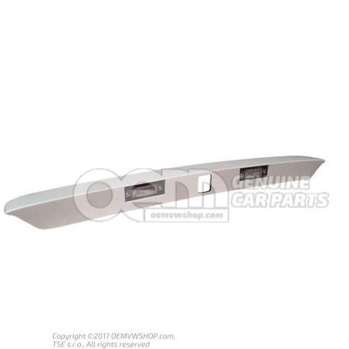 Bandeau d'eclairage poignee-moulure couche de fond 7E0827329J GRU