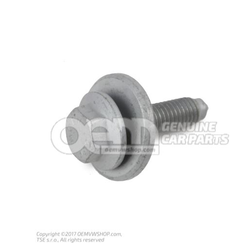 N  90755802 Boulon 6 pans a embase (combi) M8X32