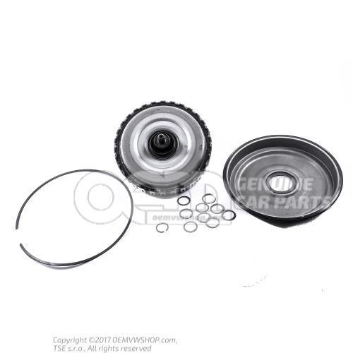 适用于0BH / DQ500 7速DSG变速箱的正品湿式双离合器修理包。