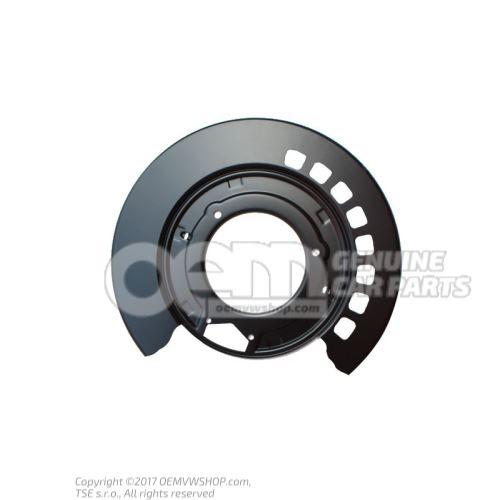 Тормозный щит 7L0609451B