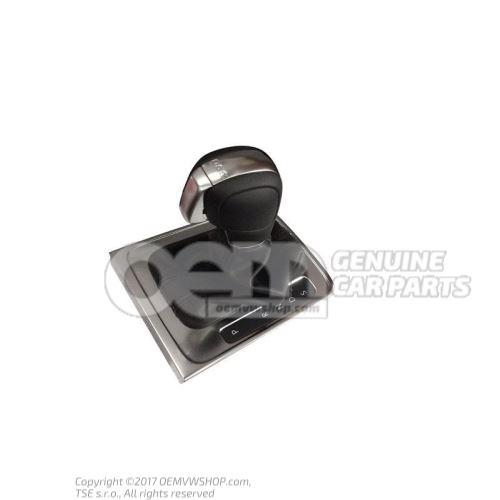 Cache de commande des vitesses noir/aluminium 3AB713203E TVJ