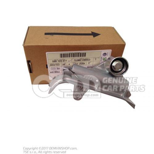 Belt tensioner damper 06B109477