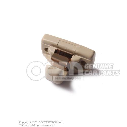 Retainer for sun visor light beige 3B0857561B 8YS