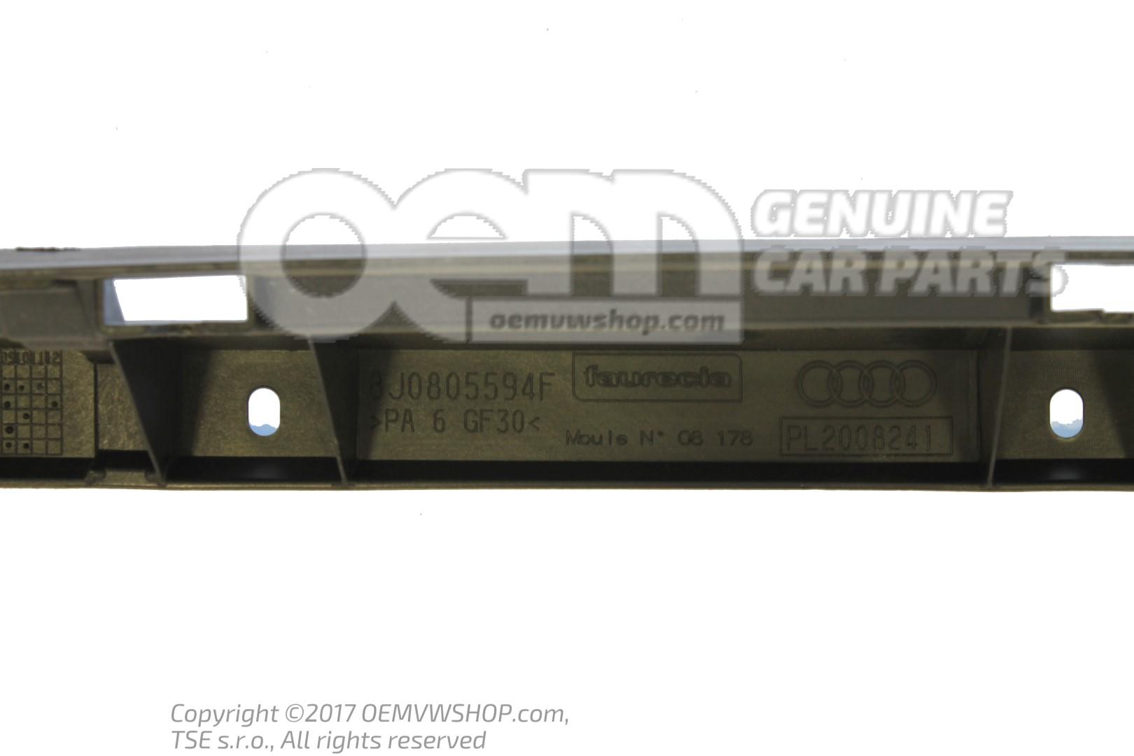 NEW AUDI TT 8J RADIATOR SUPPORT LOCK CARRIER 8J0805594G OEM