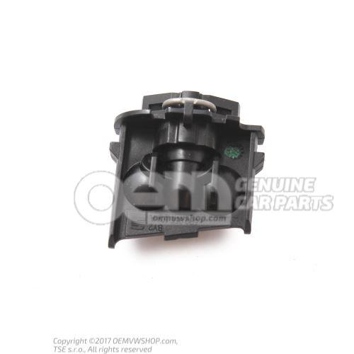 Nozzle carrier w/spray nozzle 5P0955104A