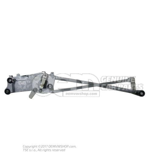 Крепление стеклоочистителя с тягой и кривошипом 7L0955601C