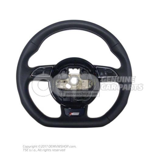 Multifunct. sports strng wheel (leather) mult.steering wheel (leather) steering wheel soul 8K0419091CGIWQ