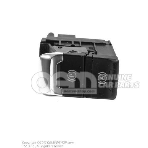 Switch for electromechanical parking brake  -EPB- nero standard 8K2927225D WEP