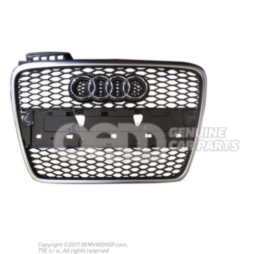 Radiator grille black Audi RS4 Cabriolet/Quattro 8E 8E0853651L 3FZ