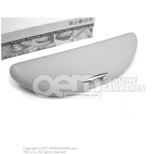 Spectacles holder pearl grey 3B0857465A Y20