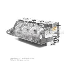 Cylinder head with valves and camshaft (without pump/nozzle) 038103267 X