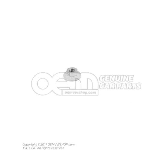 N  90887703 六角法兰螺母, 自锁 M6
