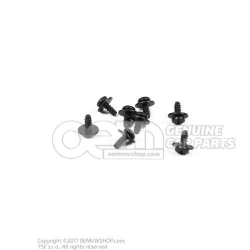 N  90919701 半圆头自攻螺栓(组合) 4,2X11