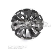 铝合金轮辋 亮光黑 Skoda Superb 3V 3V0071499 JX2