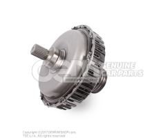 Multi-plate clutch for dual clutch gearbox 4-cylinder diesel engine 0B5141030E
