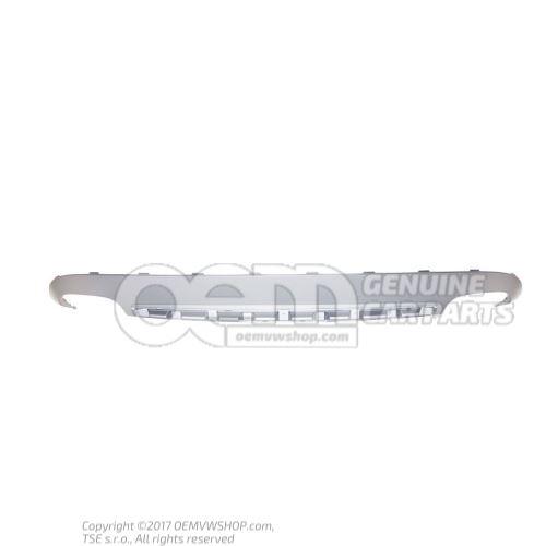 Spoiler gris platine au besoin, retoucher la decoupe pour l'accouplement de remorque 4 cylindres 8 cylindres 8T0807521B 1RR
