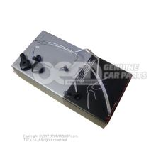 Coat hanger for attachment to head restraint 4L0061127