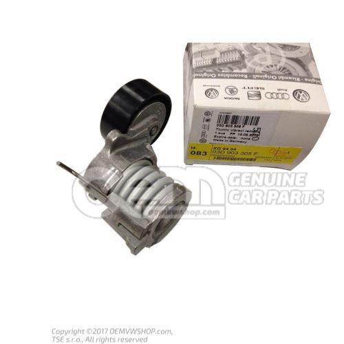 Amortiguador tensor de correa 03D903305F