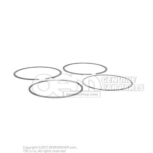 1 set: piston rings 078198151E