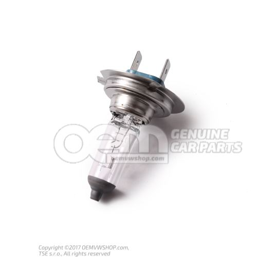 N  10320102 Ampoule a iode 'LongLife' H7-12V-55W
