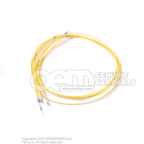 1 set single wires each with 2 contacts, in bag of 5 'Order qty. 5' 000979012E