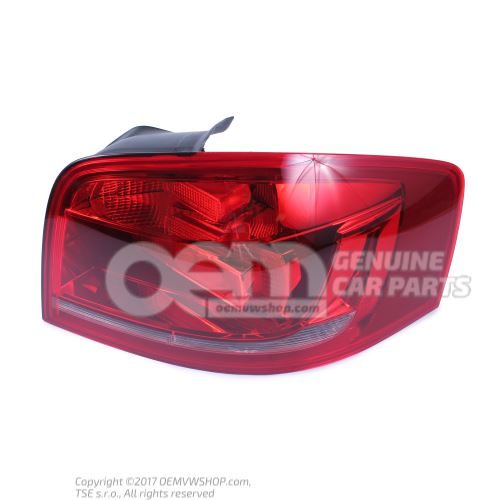 Tail light right Audi A3 Saloon/Sportback 8P 8P3945096