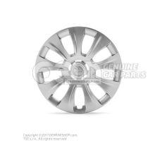1 juego embellecedores rueda plata brillante-metalizada Skoda Kodiaq 56 565071457 Z31