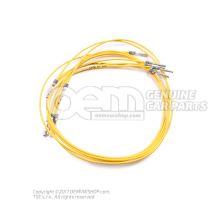 1 faisceau cable indiv. avec resp. 2 contacts en paquets de 5 pieces 'Unite de commande 5' 000979154E