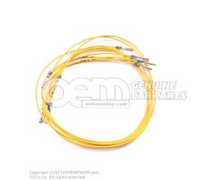 1 set single wires each with 2 contacts, in bag of 5 'Order qty. 5' 000979154E
