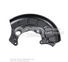 Cover plate for brake disc 191615312B