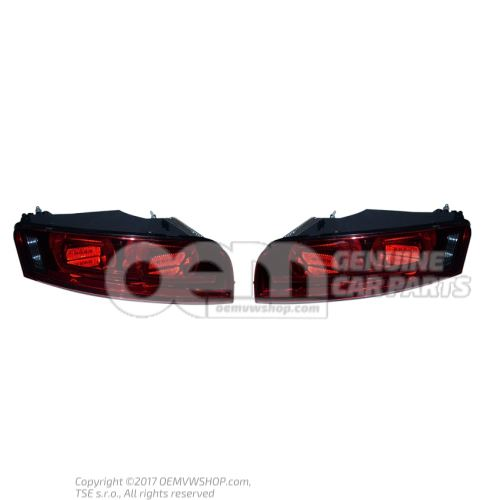 Rear lights Black GT (V10) 420945095F 420945096F OEM01455284