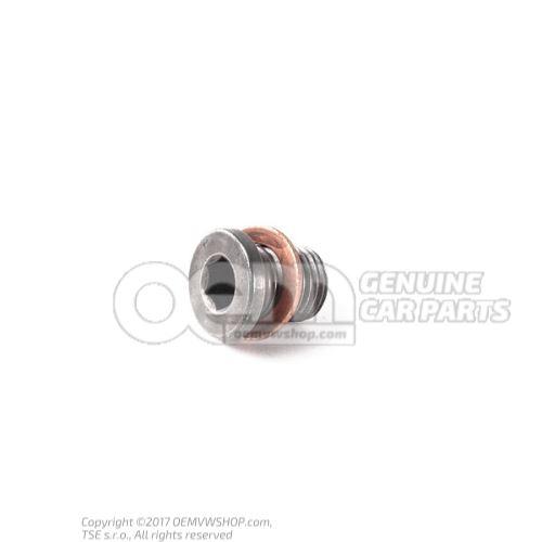 N  91086801 Vis-bouchon de vidange d'huile M14X1,5X17