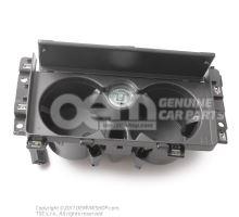 Portavasos Audi Q8 con tapa negra piano Audi Q8 4M OEM02333283