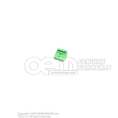 Caja de contactos planos con bloqueo de contacto 8X0035447A