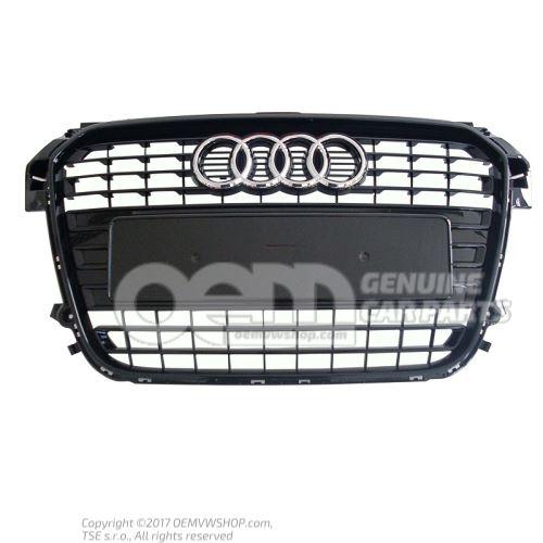 Radiator grille black-glossy Audi A1/S1 8X 8X0853651 ALZ