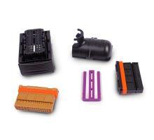 Корпус плоского разъёма с фиксатором контактов 3C0906379