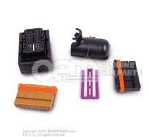 Flat contact housing with contact locking mechanism 60-pin 3C0906379