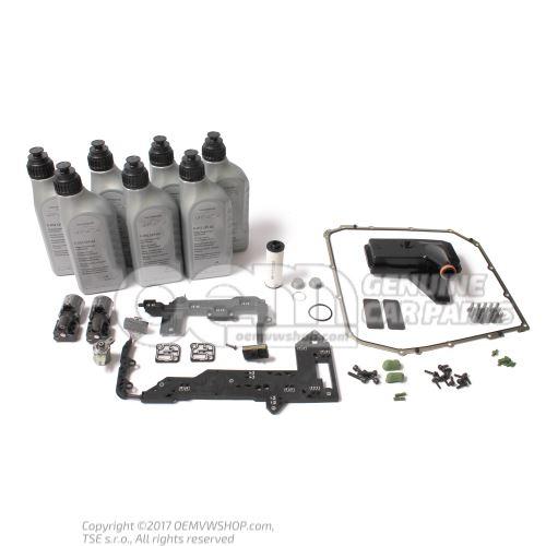 Kit de servicio Audi DSG 7 velocidades S-tronic 0B5 DL501 con kit de reparación mecatrónica 0B5398048D