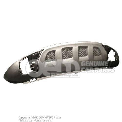 Спойлер чёрный satinschwarz Volkswagen Touareg 7L 7L6807061AB9B9
