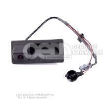 Bouton-poussoir d'actionneur electrique serrure de trappe Volkswagen Tiguan 5N 5N0827566A