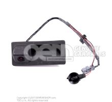 按钮,用于电动 舱盖锁操作 Volkswagen Tiguan 5N 5N0827566A