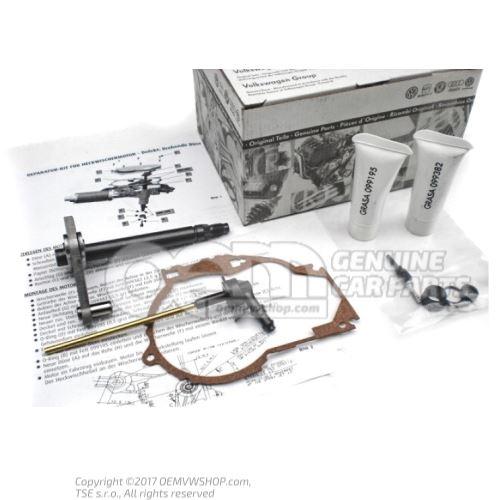 Juego de reparacion para motor de limpialunetas trasero 8L0998711