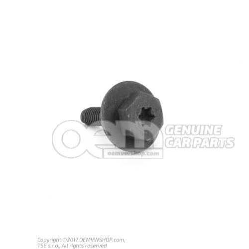 N  90955801 Boulon 6 pans (avec rondelle) autoserreur M6X25