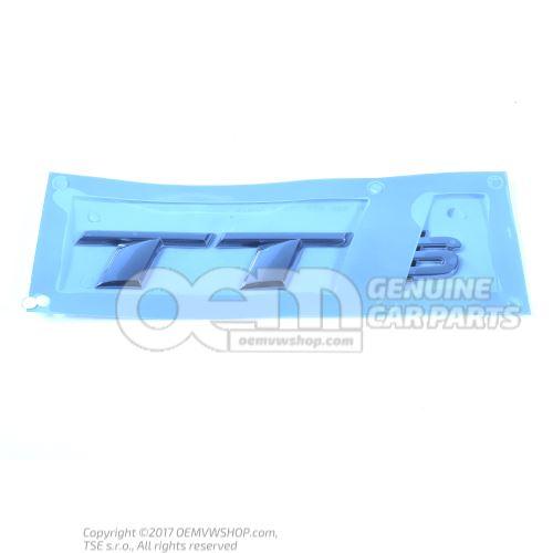 Rotulo cromo 8S0853735A 2ZZ