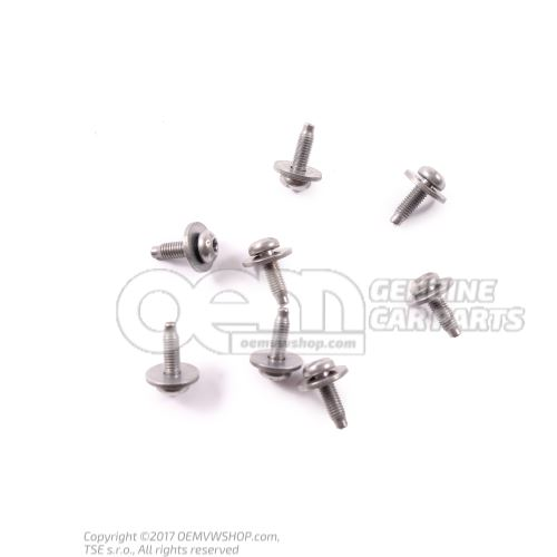 N  90729002 Tornillo alomado (combi.) M5X16