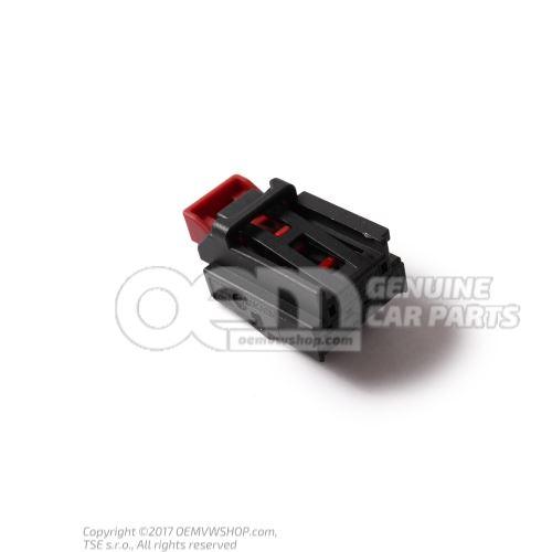 扁触头外壳 装有 接触联锁装置 7N0972704