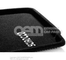 1 jeu tapis sol (textile) noir 1K1061446 WGK
