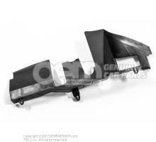 Guidage d'air Skoda Superb 3T 3T0121284A