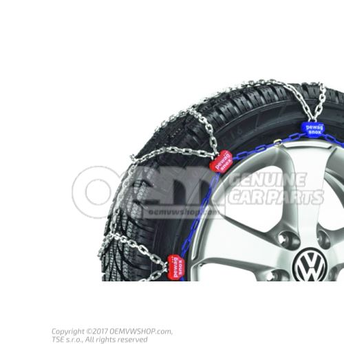 1 set of snow chains